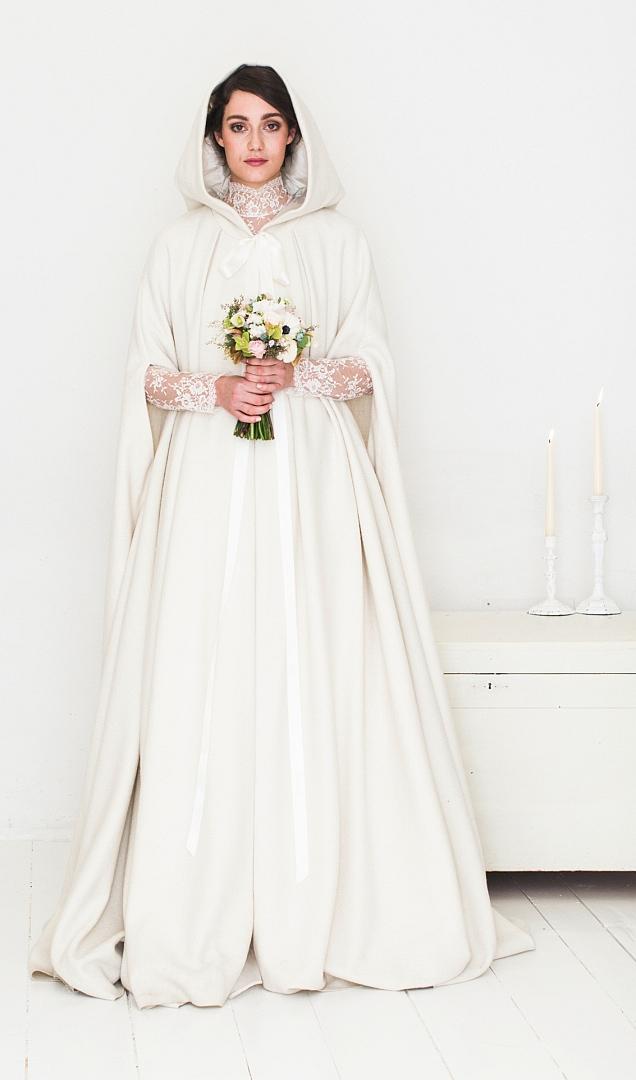 hochzeitskleid brautkleid white cape