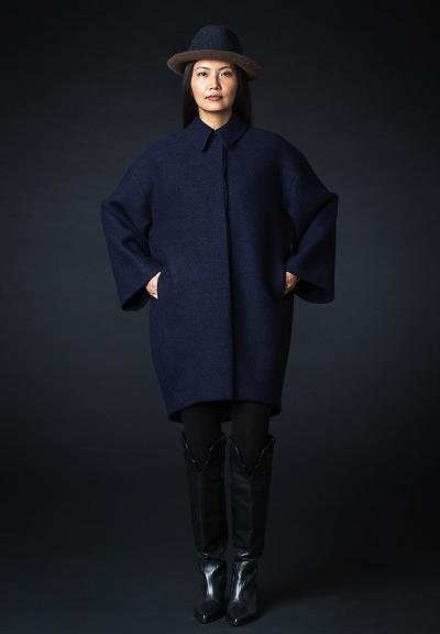 nos_99 mantel mit hemdkragen