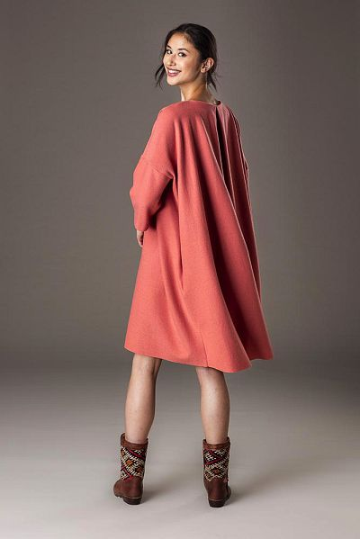 nos_111 kleid mit quetschfalte