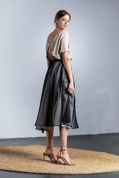 nos_91 kleid mit schwingendem rock